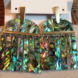 Kendra Scott LAYNE Abalone earrings